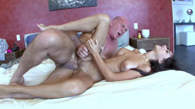 Trinity StClair let stepdad fingerfuck & drill her pussy
