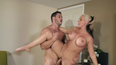 Busty mom Alena Croft gets fucked by her new stepson