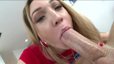 Fair-skinned Lily LaBeau getting primal rectal wrecking