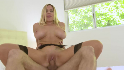 Olivia Austin has a craving that only the gardeners cock will be able to satisfy