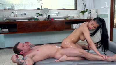 Perfect asian Jade Kush incredible oiled sex