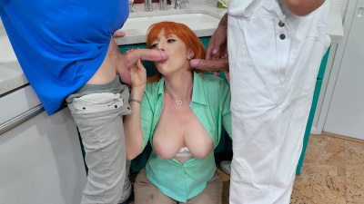 Ginger milf Lauren Phillips dives into some of the naughtiest Family Guy cut scenes