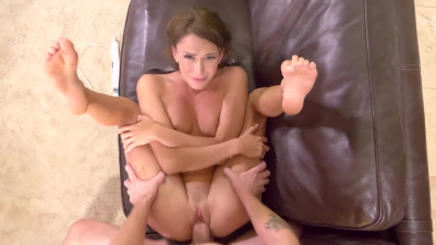 Emma Hix gets creampied repeatedly to close the deal on a house