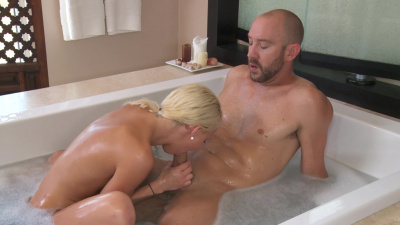 Slim masseuse Destiny Jaymes is full of cock and moaning from pleasure