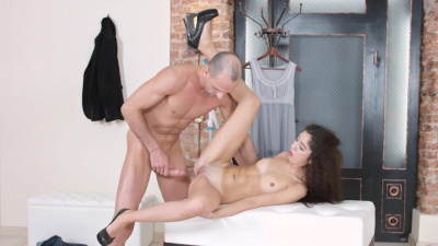 Katty West lvoes hard anal romp