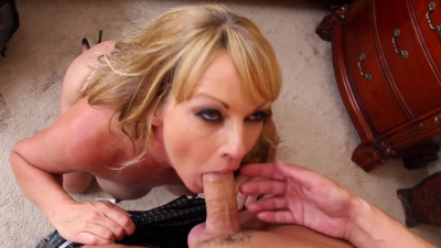 Cougar Shayla LeVeaux relieves some stress by getting her pussy fucked