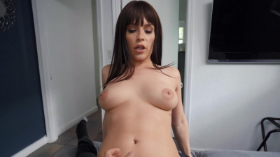Fit lady Kiara Edwards doing sex yoga with a pervy spy