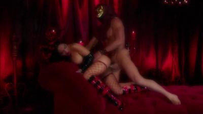Asa Akira kinky sex in the dungeon