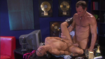 Sultry Kaylani Lei getting plowed by music producer