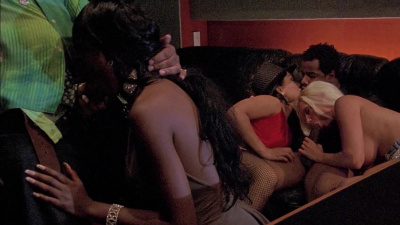 Bunch of chicks going wild at swinger party